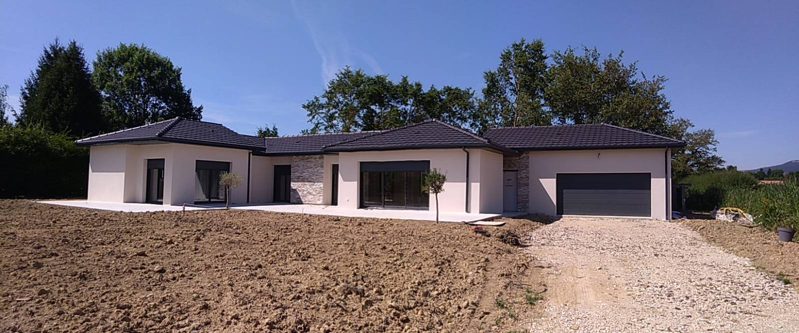 Construction d\'une maison contemporaine 160 m² dans l\'ain ...